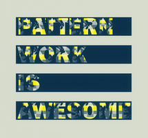 Pattern work is awesome by TheUnknownBeing