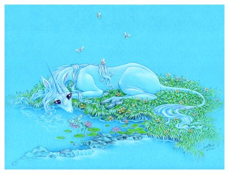The Last Unicorn by CassieFrese