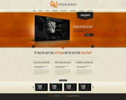 Web Design Template by VictoryDesign