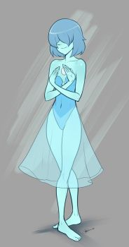 Blue pearl - comm by IZRA