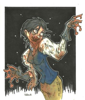 JENNY ZOMBIE VARIANT by leagueof1