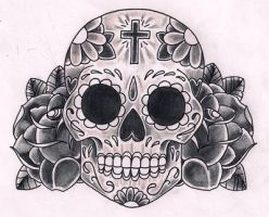 SugarSkull by Kirzten