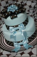 My First With Fondant by Sister-of-Charity
