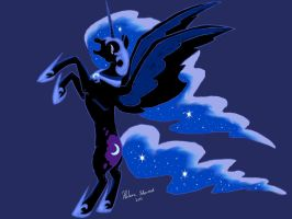 Nightmare Moon by Melinyel