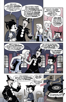 Betty Boop Dynamite Comic #1 (Page 3) by Rapper1996