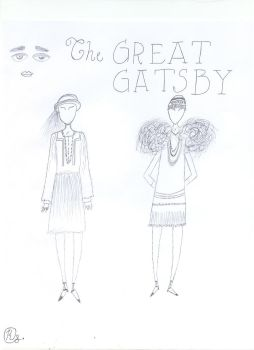 Gatsby outfits by StormyMemories