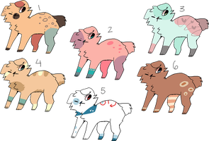 doggy adopties {ONLY 30 PTS EACH} //reduced price! by fairypaws
