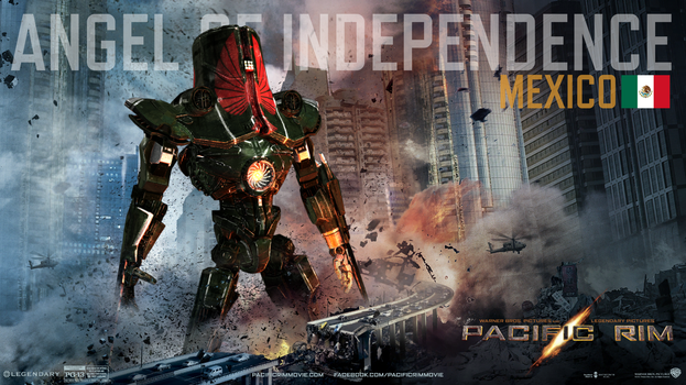 Pacific Rim Angel of Independence Jaeger by PAGANI-F1