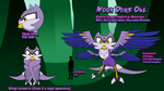 Forest Creature Contest -Moon Duke Owl- by spdy4