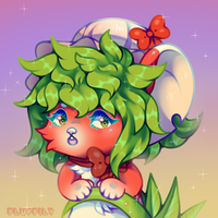 Strawberry Mouse by Fluffily