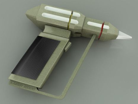 Laser Weapon by JohnRocket