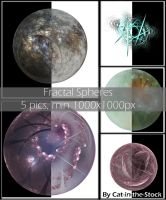 Fractal Spheres by Cat-in-the-Stock