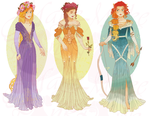 Disney Mucha Xstitch Patterns (Hannah-Alexander) by pinkythepink