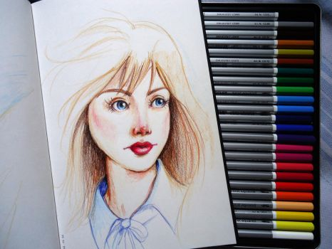 Testing my new color pencils by geehsc