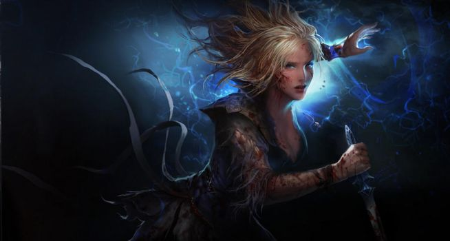 Path Of Exile Scion by 2quick4lightning