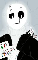 Gaster and little Gaster by KayleeA