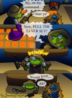 Wrong Lever by JennissyCooper
