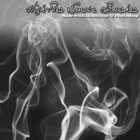Smoke PS Brushes by h0ttiee