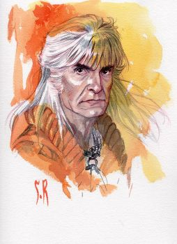 Khan Watercolor piece by StephaneRoux
