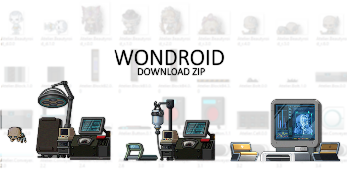 WONDROID MAP PACK by Fluffycloudkit