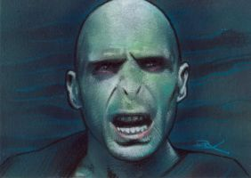 Voldemort Sketch Card by Ethrendil