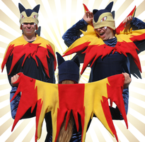 Typhlosion Set by clearkid