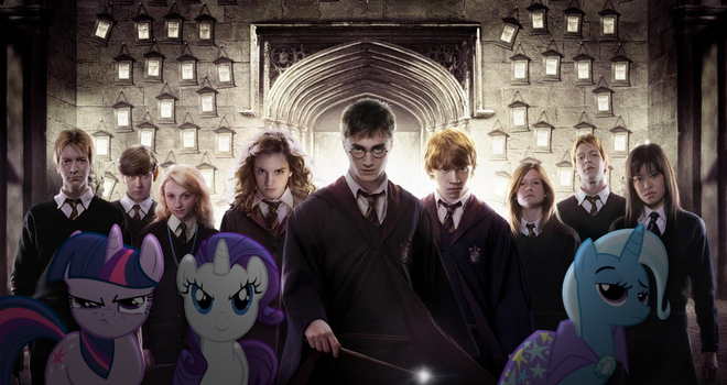 Potter's Ponies by Bryal