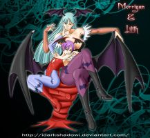 MORRIGAN AND LILITH by IDarkShadowI