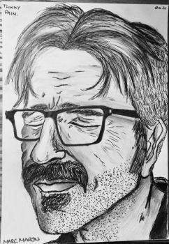 Marc Maron by ShortBackAndSides
