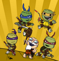 LittleBigPlanet : Turtle Power by FoxFocus