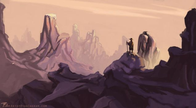 Mountain Traveler by timegate