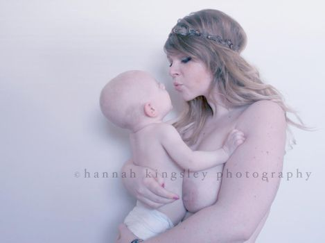 Madonna and Child III by HannahAKingsley