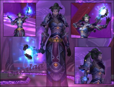 Daralaa - arcane mage by angelicmoonfire