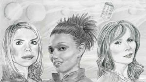 The Doctor's companions by SunburntPepperpot