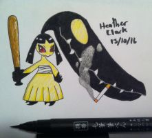Inktober Day 13: Delinquent Mawile by Darquesse12