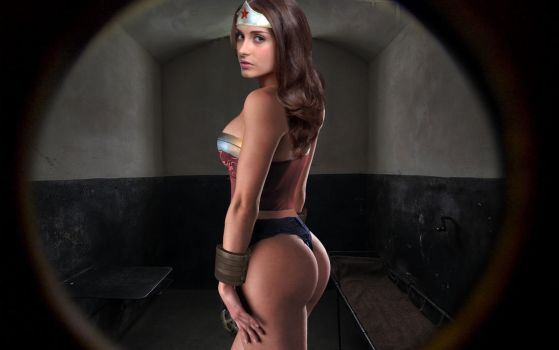 Wonder Woman. Prison Cell.. by dgrart2013