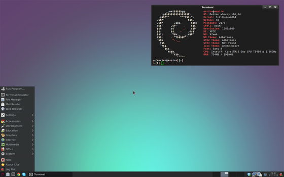 [Debian] [Xfce] A very simple setup by rent0n86