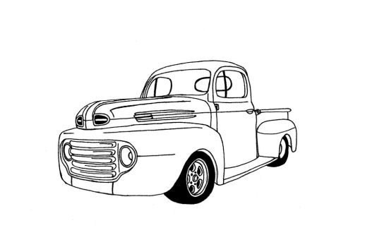 Ford F1 Pickup Truck by muzz-dogg
