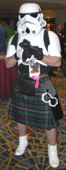 Woot, a StormTrooper in a kilt by chibiotakunoda