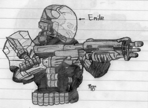 how to draw halo stuff cartoon ver