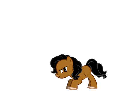 My little sister as a MLP by AmityParker