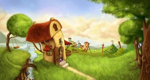 DreamHouse by bustavshica