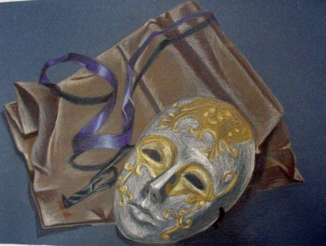 Colored Pencil Still Life by Bittersweet-Melodies