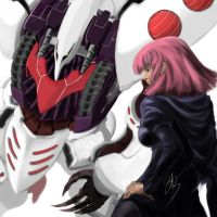 Qubeley and Haman Karn by FrostEMB