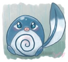 Sad Poliwag by MsKtty89