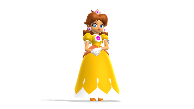 The Daisy we should of had! 3D rendered! by KoopshiKingGeoshi