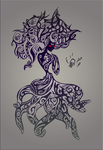 the Octopus-lady by adkind