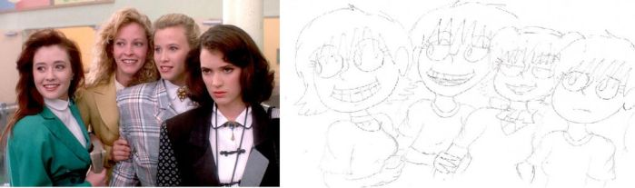 Heathers and Amanda's Comparison by SandwichProductions