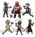 Outlast chibis by Tuikkis