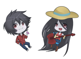 Marshall y marcy by Siulyvale